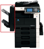 Picture of Konica Minolta FS-522 Base Finisher (Embedded Model) 50-Sheet Staple Capability