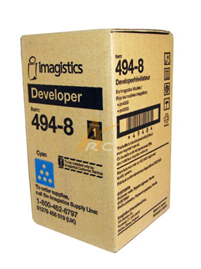 Picture of Cyan Developer 487-8 for Imagistics (Oce) CM4531 CM4530 CM3531 CM3530