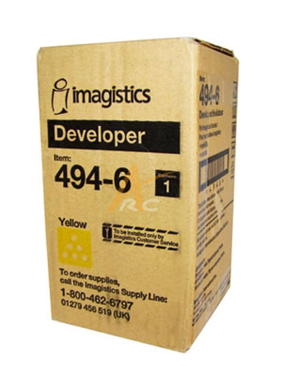 Picture of Yellow Developer 487-6 for Imagistics (Oce) M4531 CM4530 CD3531 CM3530