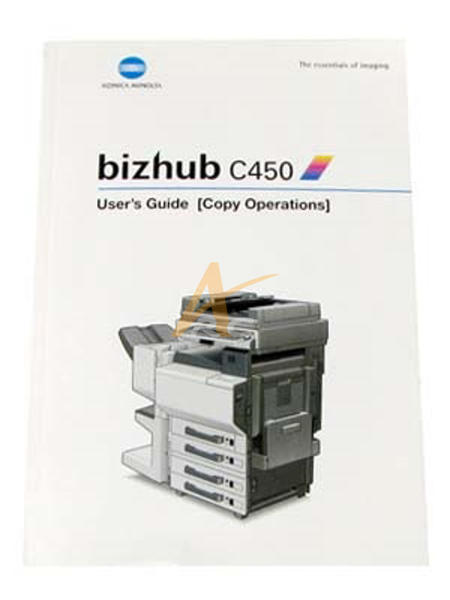Picture of User's Guide (Copy Operations) for Bizhub C450