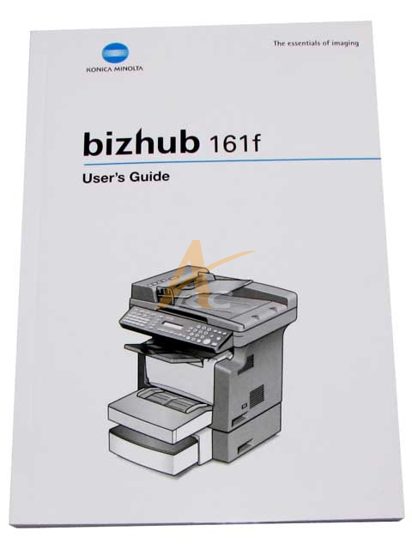 Picture of User's Guide for Bizhub 161f