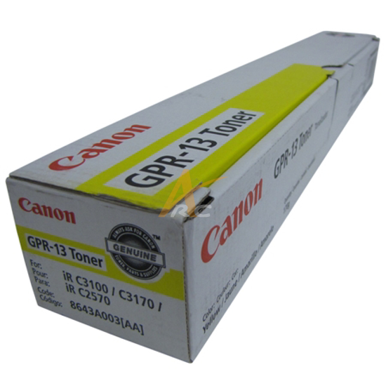 Picture of Canon GPR-13 Yellow Toner for imageRUNNER C2570 C3170U