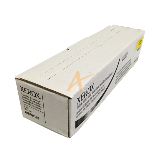 Picture of Xerox Yellow Toner for the WorkCentre 7328 7335 7345 7346