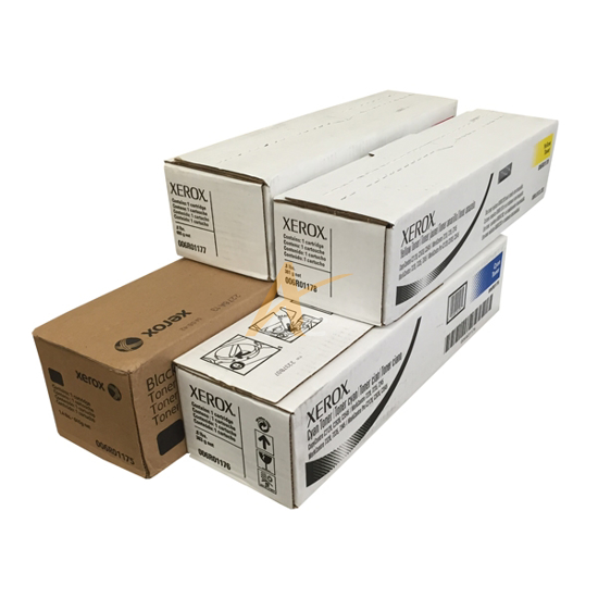 Picture of Xerox Toner Set (CMYK) for the WorkCentre 7328 7335 7345 7346