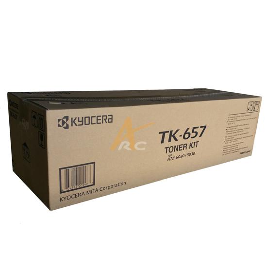 Picture of Kyocera TK-657 Black Toner Kit for KM6030 KM8030