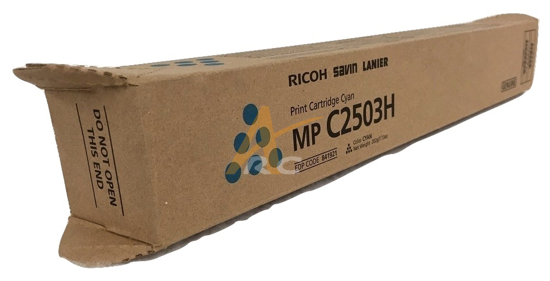 Picture of Ricoh Cyan Toner Cartridge for Ricoh MPC2003 MPC2503
