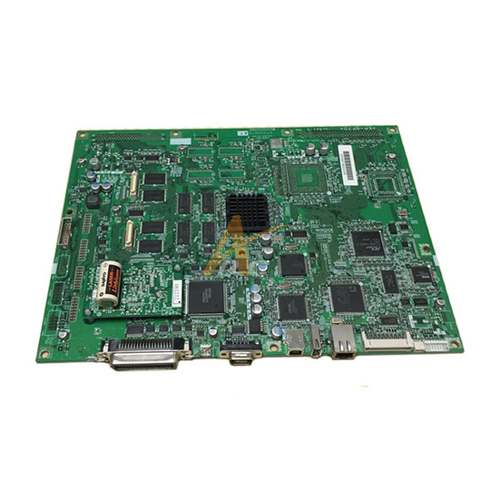 Picture of Repaired Konica Minolta System Control Board for Bizhub Pro C6500, C6501, C5501