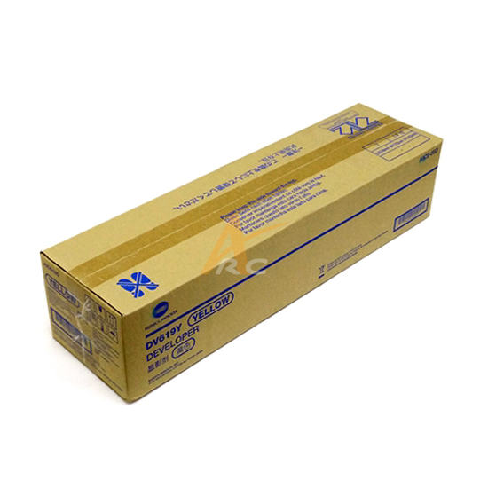 Picture of Konica Minolta DV619Y Yellow Developing Unit for bizhub C458 C658