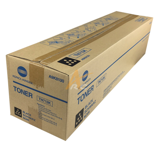 Picture of Konica Minolta TN713K Black Toner for bizhub C659 C759