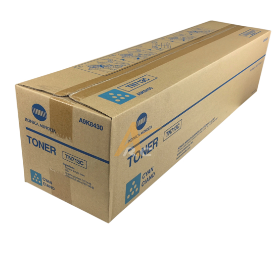 Picture of Konica Minolta TN713C Cyan Toner for bizhub C659 C759