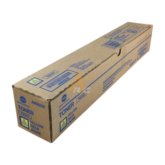 Picture of Konica Minolta TN514Y Yellow Toner A9E8230 bizhub C458 C558 C658