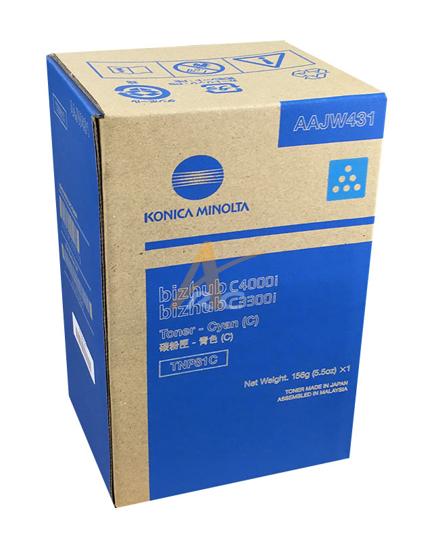 Picture of Konica Minolta TNP81C Cyan Toner for bizhub C3300i C4000i