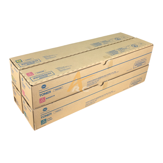 Picture of Konica Minolta TN623 Color Toner Set for for AccurioLabel 190 AccurioLabel 230 bizhub C71cf