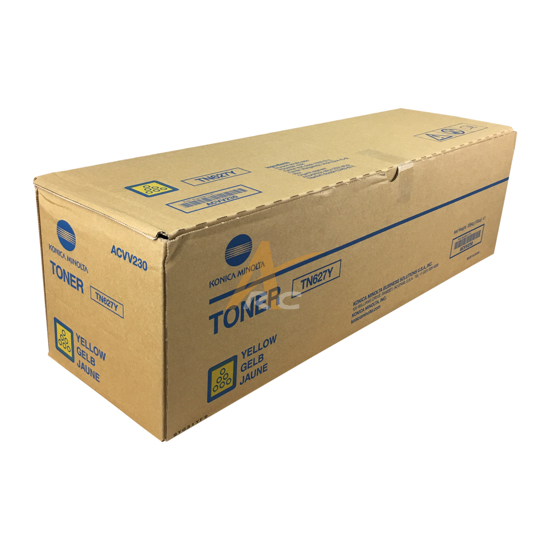 Picture of ACVV230 TN627Y Yellow Toner for Konica Minolta  C12000 C14000