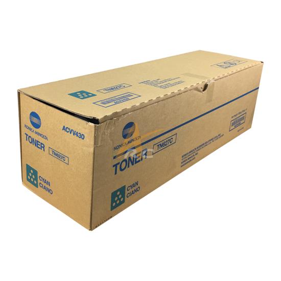 Picture of ACVV430 TN627C Cyan Toner for Konica Minolta  AccurioPress C12000 C14000